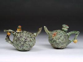 Green Osage Teapots