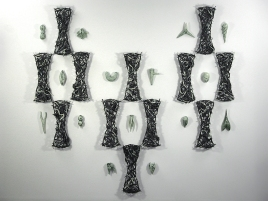 "Bone Garden, 68""x 148""x 6"""