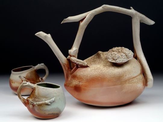 Woodfired Branch and Seed Teaset
