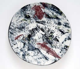 "Pond Plate, 10"" diameter"