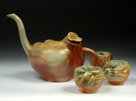 Brain Teaset (back view)