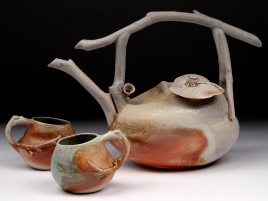 Woodfired Branch and Gourd Teaset II