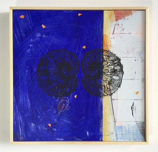 """Iona, acrylic on birch, 12""""x12"""""""